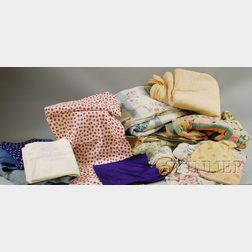 Lot of Vintage and Other Textiles and Fabric