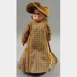 Closed Mouth Belton-type 224 Bisque Head Doll