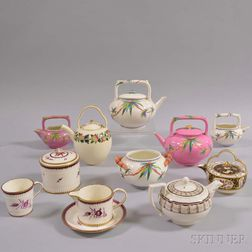 Eleven Pieces of Wedgwood Ceramic Teaware