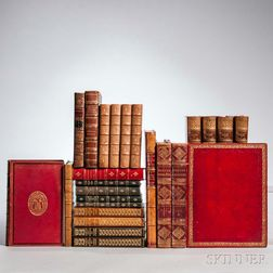 Decorative Bindings, Sets, Twenty-four Volumes.