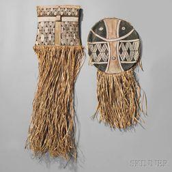 Two Amazonian Ceremonial Masks