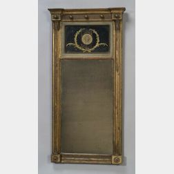 Federal Giltwood and Eglomise Mirror