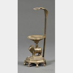 Bronze Votive Lamp