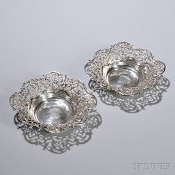 Pair of Theodore B. Starr Sterling Silver Candy Dishes