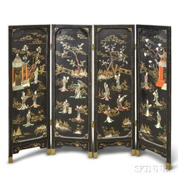 Hardstone Decorated Screen