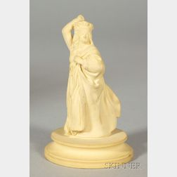 Wedgwood Caneware Queen Chess Piece