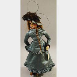 Large Jumeau Bisque Head Fashion Doll