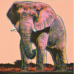 Andy Warhol (American, 1928-1987)      African Elephant