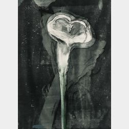 Michael Burton Mazur (American, 1935-2009)      Suite of Three Works: Calla Lilly 4
