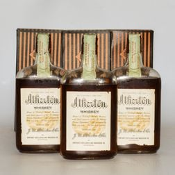 Atherton 12 Years Old 1917, 3 pint bottles (oc)