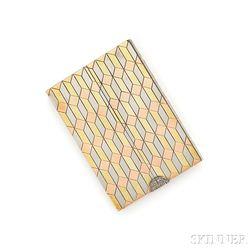 14kt Tricolor Gold Box, Udall & Ballou