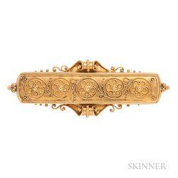 Antique Gold Brooch, John Brogden