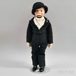 Effanbee Composition and Cloth Charlie McCarthy Doll