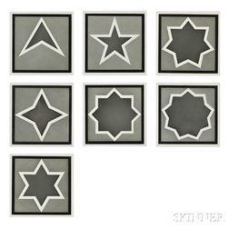 Sol LeWitt (American, 1928-2007)      Stars - Dark Center