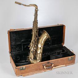 Tenor Saxophone, Selmer Mark VI, 1954
