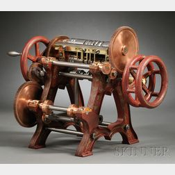 Forging Machine Patent Model by E. Wheeler