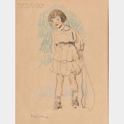 Francis Luis Mora (American, 1874-1940)    Rosemary #2