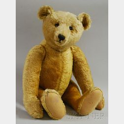 Large Reticulated Stuffed Teddy Bear