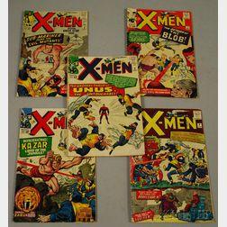 Silver Age The X-Men  , No. 6-10