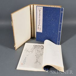 Watercolored Woodblock Print Album