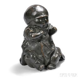 Harold Tovish (1921-2008) Baby Sculpture