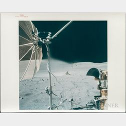 Apollo 16, Lunar Surface and Equipment, Three Photographs.