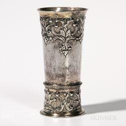 Hungarian Silver Beaker