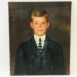 Kenneth Frazier (American, 1867-1949)    Two Portraits: David Sears