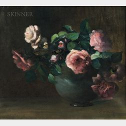 Charles Ethan Porter (American 1847-1923)      Roses