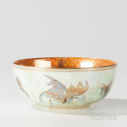 Wedgwood Butterfly Lustre Imperial Bowl