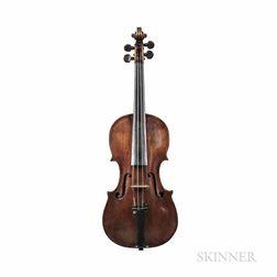 German Violin, Widhalm School, c. 1780