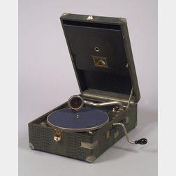 HMV Model 101 Portable Gramophone