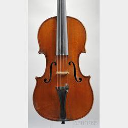 French Violin, George Cunault, Paris, c. 1900