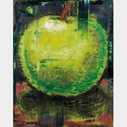 Aaron Fink (American, b. 1955)      Untitled, [Green Apple]