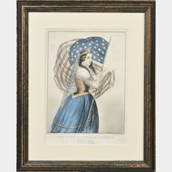 Currier & Ives, publishers (American, 1857-1907)      The Star Spangled Banner.