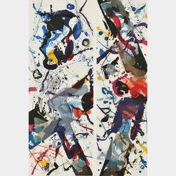 Sam Francis (American, 1923-1994)      Untitled (SFE-028  )