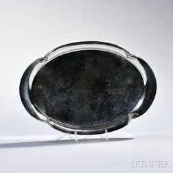 Georg Jensen Sterling Silver Bread Tray
