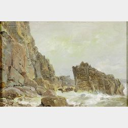 William Trost Richards (American, 1833-1905)      Clovelly