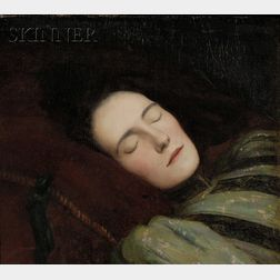 Kenneth Frazier (French/American, 1867-1949)      Winter Dreams
