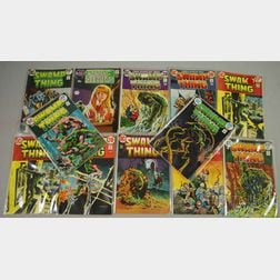 House of Secrets  , No. 92 and Swamp Thing  , No. 1-10