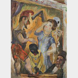 Gerrit Hondius (Dutch/American, 1891-1970)      Punch and Judy