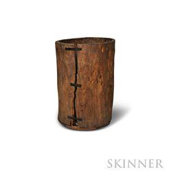 Rustic Storage Barrel