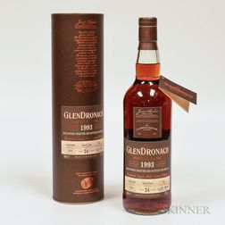 Glendronach 24 Years Old 1993, 1 70cl bottle (ot)