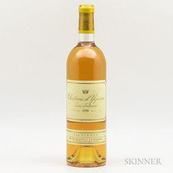 Chateau dYquem 1998, 1 bottle