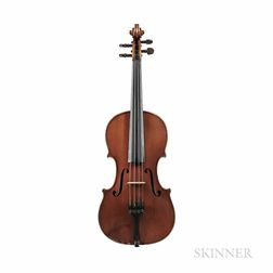 English Violin, Alfred Warrell, Deal, c. 1930