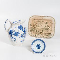 Six Pieces of Ceramic Tableware