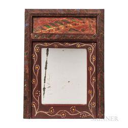 Folk Painted Mirror