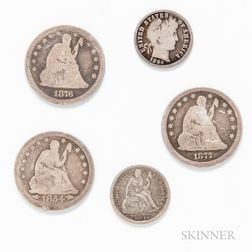 Five American Coins