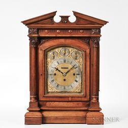 Fattorini & Son English Fusee Bracket Clock