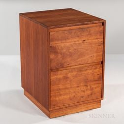 Thomas Moser Cherry Two-drawer File Cabinet
